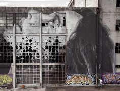 "Rone ""broken window theory"" - Geelong, Australia/1"