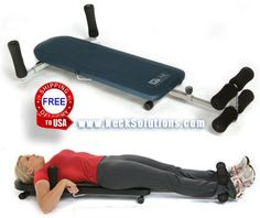 The Spinal Decompression Machine For Home Use Helps Herniated Discs & Arthritic Joints. Relieve Your Pain With This Effective Back Traction Bench Decompress Spine, Lumbar Decompression, Back Pain Relief, Best Pillow, Health Club, Sciatica, Running Workouts, Training Equipment, Neck Pain