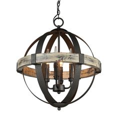 Shop Artcraft Lighting  AC10015 Castello 4-Light Sphere Chandelier at ATG Stores. Browse our chandeliers, all with free shipping and best price guaranteed.