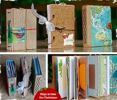 upcycled journals and SMASH books