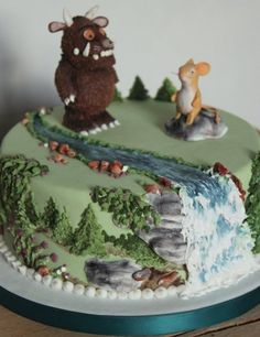 The Gruffalo cake - by sweetassugarcakes @ CakesDecor.com - cake decorating website