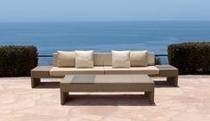 Brown Jordan's collections of outdoor-indoor furniture