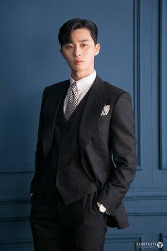 What's Wrong With Secretary Kim-Park Seo-joon_Korean Drama-Subtitle Park Min Young, Asian Actors, Korean Actors, My Shy Boss, Camisa Bts, Joon Park, Park Seo Joon Abs, Lee Young, Kdrama Actors