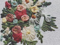 Floral Embroidery Hoop Art Wedding Bouquet Bridal Bouquet