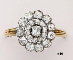 Victorian-era ring - gorgeous! #jewelry #vintage #antique