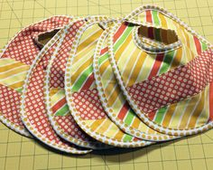 Baby Bib Tutorial an