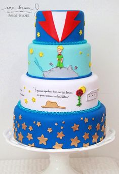 Resultado de imagen para imagenes del principito para bordar Prince Birthday Party, Birthday Star, Baby Boy Birthday, First Birthday Parties, First Birthdays, Little Prince Party, The Little Prince, Prince Cake, Party Pops