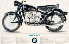 Cafe Beemers: BMW R69S - 1967 Advertising
