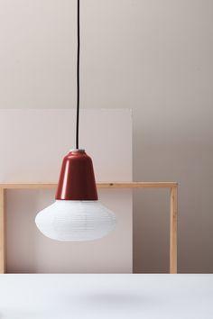 Medium | Limited Edition Red | Beech/Aluminum/Paper