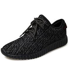 online retailer 9208f 5cc6b ... Women Unisex Couple Casual Fashion Sneakers Breathable Athletic Sports  Shoes(Sold by Store), Black, Women US   See this awesome image   ·  HerrskorSvarta ...