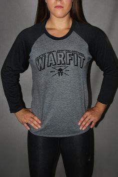 3/4 Warfit Baseball Tee