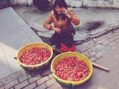 strawberry #chinesestyle#wuhan#china#qingnianlu