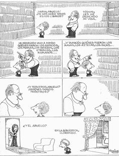 Quino - Nuestra identidad - Humor grafico y risas