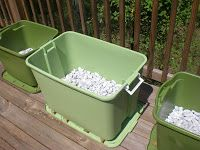 "This is my ""recipe"" for a Container Garden using Rubbermaid containers.  It is a cheap and effective way to garden, and is very easy to get ..."