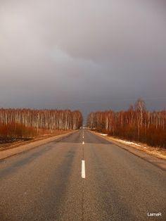 Road to Preili, Latvia