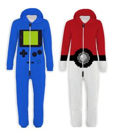 Adult onesies | pokeball and gameboy