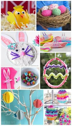20+Simple+and+Fun+Easter+Crafts+to+do+with+Kids