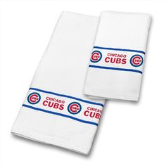 mlb chicago cubs towel set cubs the new cotton terry and velour towel - Boston Red Sox Bath Accessories