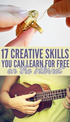 17 Creative Skills You Can Learn For Free Online