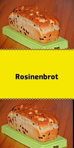 RosinenbrotZutaten: 500 ml Milch 900 g Mehl (Typ 80 g Margarine 80 g Zucker 6 g Salz 2 Pck. Tro Zutaten: 500 ml Milch 900 g Mehl (Typ 80 g Margarine 80 g Zucker 6 g Salz 2 Pck. Banana Recipes, Easy Cake Recipes, Recipe For 4, Pampered Chef, Vegan Foods, Bread Baking, Bakery, Easy Meals, Food And Drink