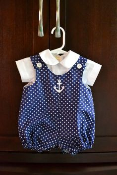 I love bubble rompers on babies -- boy or girl. There's something so southern about them. On their own, they're nice and breezy for hot...