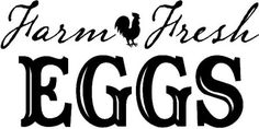 farm fresh eggs - Google Search