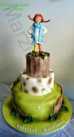 Pipi Longstocking Cake, my favorite movie!
