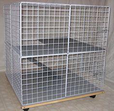 Bunny Mini-Condo! Indoor Rabbit cage, hutch & pet pen in Pet Supplies | eBay