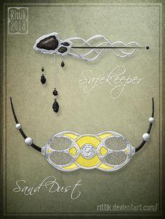 Amulet - Commission 8 by Rittik.deviantart.com on @deviantART