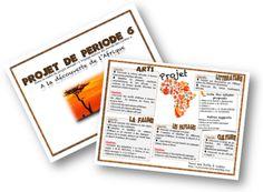 Projet : A la découverte de l'Afrique Afrique Art, French Resources, Petite Section, Safari, Teaching, Education, Games, Cycle 1, Socialism