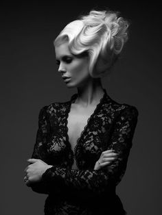 Photography - Peter Coulson Hair - Lorna Evens...