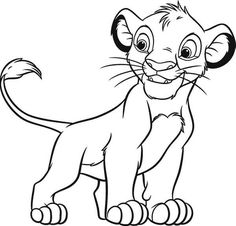 Lion King Coloring Pages Simba. Simba Coloring Pages 01