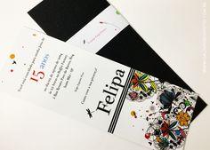 Convites de 15 anos - Galeria de Convites