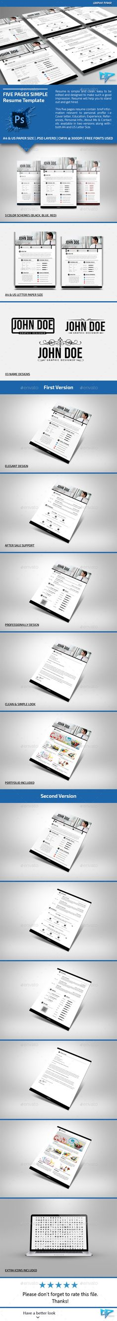 Infographic Resume Vol1 Infographic resume and Infographic - one page resumes