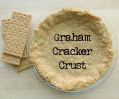 Graham Cracker Crust. Would probably make a good chocolate pudding cake if chocolate graham crackers are used.