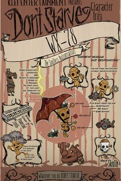 Don't Starve-WX-78 by VisualDiscord on Etsy