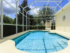 Corner lot with screened Pool, Luxury 5* resort Close to DisneyVacation Rental in Reunion from @HomeAway! #vacation #rental #travel #homeaway