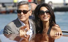 George Clooney e Amal Alamuddin estão oficialmente casados.