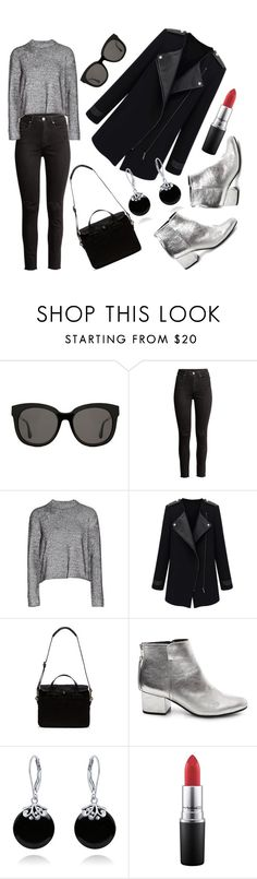 """Silver"" by elyagilyova on Polyvore featuring Gentle Monster, T By Alexander Wang, Filson, Steve Madden and Bling Jewelry"