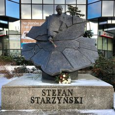 The Stefan Starzynski #memorial in #Warsaw who was a #Polish statesman economist military officer and Mayor of Warsaw before and during the Siege of 1939. #WW2 #history #fact #education #art #statue #sculpture #architecture #Poland #travel #tourism #tourist #leisure #life