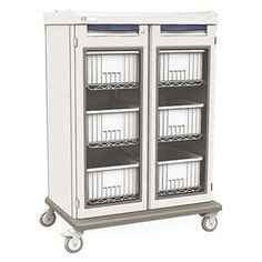 Medical IV Cart, Taupe, w/6 Tote Boxes by Metro. $4231.66. Medical IV Cart, Cabinet Color Light Taupe, Drawer Color Light Taupe, Drawer Pull Color Light TaupeOverall Height 59-3/4 In., Overall Width 43 In., Overall Depth 27-7/8 In., Material PolymerNumber of Shelves 3 AdjustableCaster Size 5 In., Caster Type 4 Swivel, Caster Material Polyurethane, Includes (6) Tote Boxes Medical IV CartsStarsys Medical CartsFull-extension shelves allow complete access to all IV bags. Locki...
