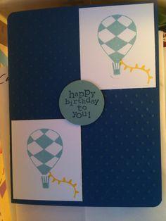 birthday hot air balloons