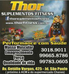Thor SUPLEMENTOS FITNESS
