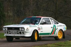 RALLY! Lancia Beta Coupe