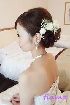 「 美人花嫁さまの3アップスタイルチェンジで素敵な一日♡ 」の画像 大人可愛いブライダルヘアメイク『tiamo』の結婚カタログ Ameba (アメーバ)