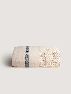 Fog Linen Work blanket