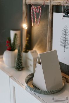 Create Yourself A Merry Little Christmas - Weihnachten Diy Holz, Merry Little Christmas, Diy Weihnachten, Create Yourself, Pottery, Lettering, Simple, Advent, Celebrating Christmas