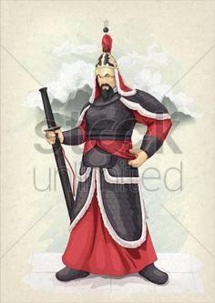 ancient-korean-warrior_1510381.png (424×600)