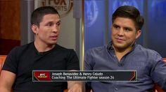 awesome Joseph Benavidez and Henry Cejudo talk training, TUF and more - 'UFC Tonight'