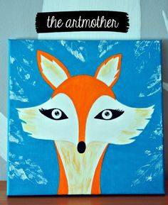 A  fox - to make a children´s room more coool